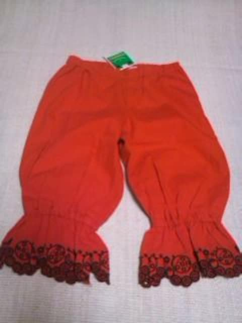 ●BOOHOMES●裾刺繍プックリパンツ 110 新品¥6930  < ブランドの