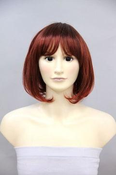 期間限定80%OFF!Wigs2you★W-420★人気*ショート*ボブ★赤茶