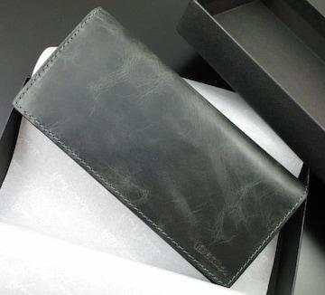 新品☆箱付 ポールスミス 上質牛革使用 長財布 ブルー