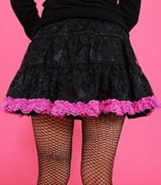 MARS☆チュチュレーススカート☆ピンク☆S☆美品