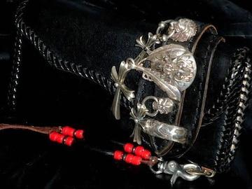 ARTSHDEアーツハイド カスタムウォレット 黒・蛇ガラ