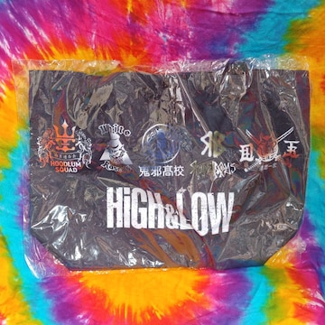 High&Low□ロゴトートバッグ
