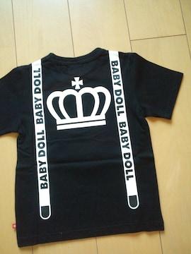 新品ネクタイTシャツ黒80ベビードールBABYDOLLベビド