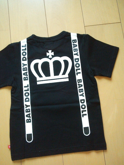 新品ネクタイTシャツ黒80ベビードールBABYDOLLベビド  < ブランドの