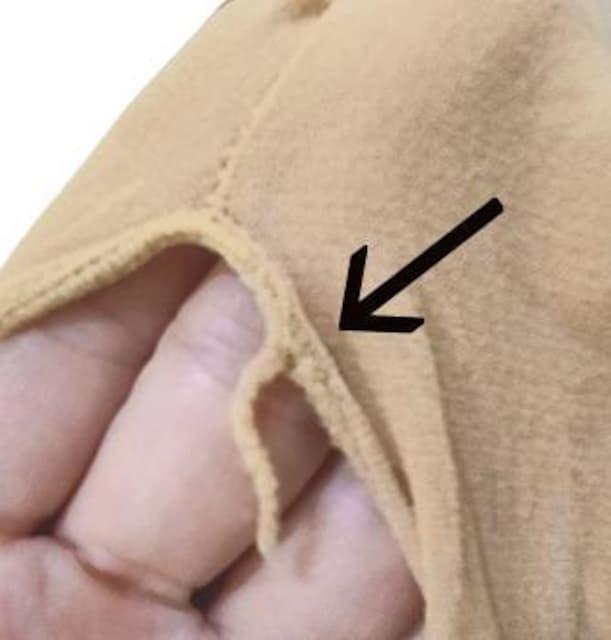新品[8208](肌色)全身ストッキング☆オープンクロッチ < 女性ファッションの