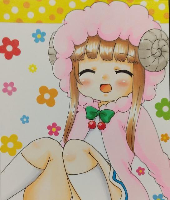 自作イラスト☆ツインエンジェルBREAK♪宇狩ころ美☆パンチラ < アニメ/コミック/キャラクターの