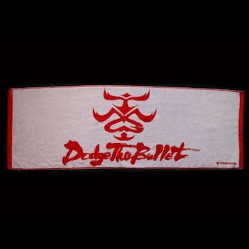 ☆【B'z】TMG Dodge The Bullet Tour2004  コンサートタオル(白)