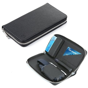 IQOS専用レザーケース 撥水加工 ブラック