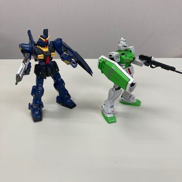 HGUC ガンダム mk2 ジムコマンド(ガンダムヘッド)