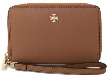 新品同様正規トリーバーチ財布リスレット付ラウンドファスナ