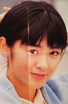 斉藤由貴&C-C-B【月刊平凡1987年4月号付録両面ミニポスター】