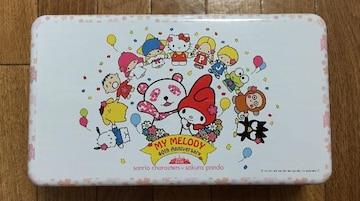 限定☆マイメロ(サンリオキャラ)×さくらパンダ コラボ記念缶