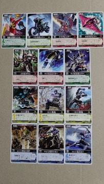 仮面ライダーカード レンジャーズストライク13種�G
