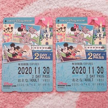 未使用 ディズニーリゾートラインパス チケット 2days TDL