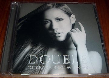 DOUBLE - 10 YEARS BEST WE R&B ベストアルバム 名盤 CD
