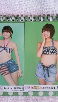 AKB 写真 篠田セット1