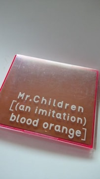 Mr.Children初回限定盤DVD付an imitation blood orange