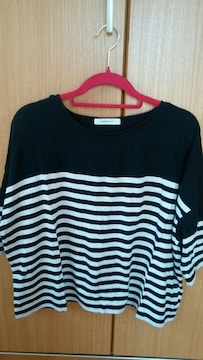 ☆Moussy/切り替えボーダーTシャツ☆