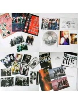 レア!the GazettE ガゼット【限定】パンフレット6冊・会報・物販写真・特典CD