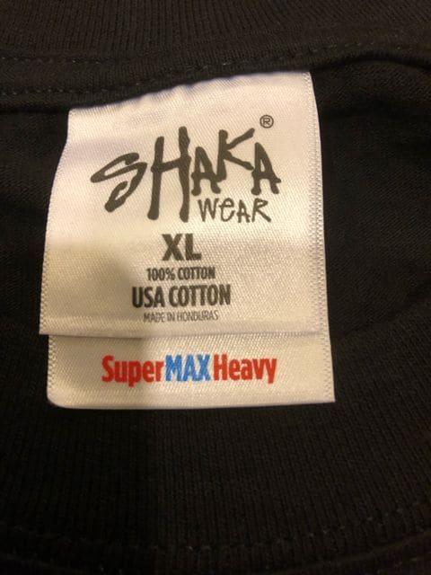 LA直輸入  マリファナ KUSH 黒ブラック sizeXL 大きい  厚手 L1 < 男性ファッションの