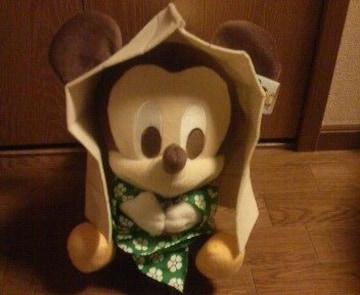 雪ん子ミッキーマウス★ぬいぐるみ♪