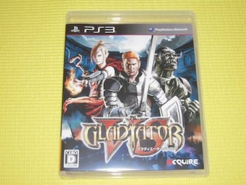 PS3★即決★グラディエーターバーサス★箱説付