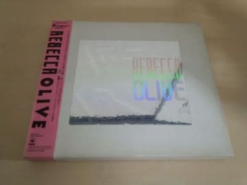 レベッカCD「オリーヴOLIVE」REBECCA初回限定盤●