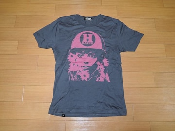 HYSTERIC GLAMOURヒステリックグラマーTシャツSガールRATED