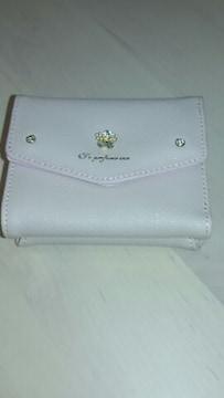 ピンクのミニ財布