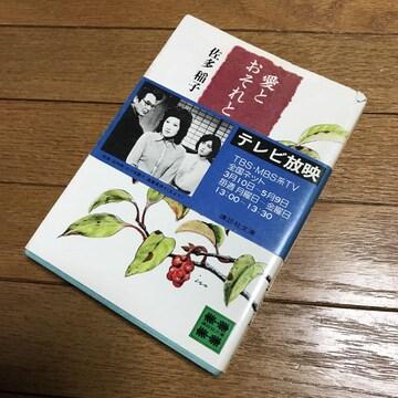 小説AA☆愛とおそれと 佐多稲子 講談社文庫 A612  380