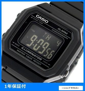 新品 即買い■ カシオ 腕時計 B650WB-1B ブラック