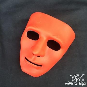 ヒップホップ ダンスマスク MASK お面 レッド 赤 DANCE B系 361
