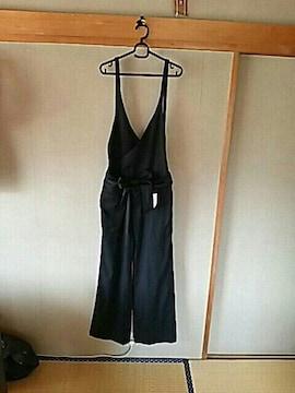 新品 サロペット M ブラック 黒 パンツ オールインワン 洋服