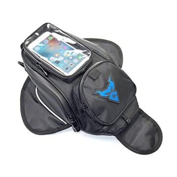 VISPREA バイク用 タンクバッグ スマホ ツーリング バッグ