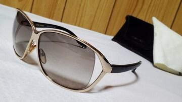 正規レア トムフォード ゴールドメタリックサングラス黒 グラマラスグラデーション ラグジュアリー