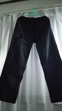新品 未使用 ワークマン  黒 レインパンツ  ポケットあり キャンプ 釣り 登山