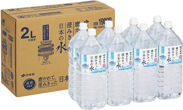 伊藤園 澄みきった日本の水 島根の水 2L×8本  < グルメ/ドリンクの