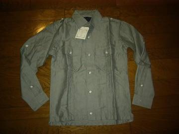 ・新品nonnativeノンネイティブ2WAYシャツ1灰定価半額以下