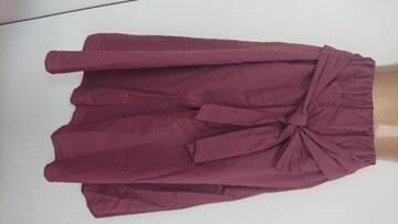 GRL茶色スカートL