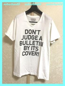 ☆STOOGE&CO☆美品涼感♪ビッグロゴガールVネックTシャツM☆