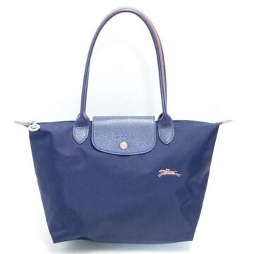 美品Longchampロンシャン プリアージュクラブ L 紫系 正規品