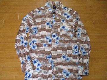 ファイトクラブ風 70年代 JOEL 総柄 シャツ USA−L