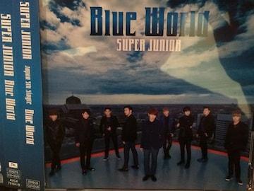 激安!超レア!☆SUPERJUNIOR/BlueWorld☆初回盤/CD+DVD☆超美品!