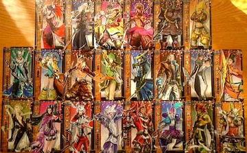 戦国BASARA/キャラクターカード/22枚