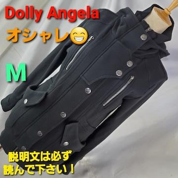 込み★392★Dolly Angela☆素敵!フード付きモッズコート★M★