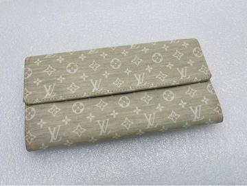 D441 美品★ ルイヴィトン モノグラム 二つ折り財布