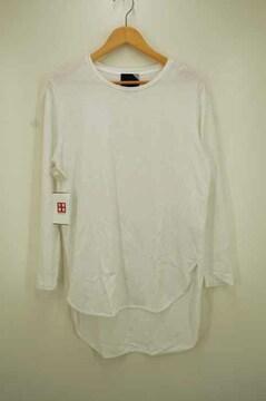 ATON(エイトン)LONGSLEEVE ROUND-HEM T-SHIRT ロングスリーブ ラウンドヘムTシャツ