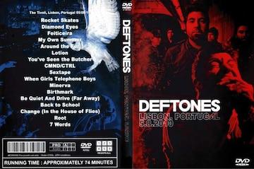 ≪送料無料≫DEFTONES リスボン決定版 5.8.2010 デフトーンズ