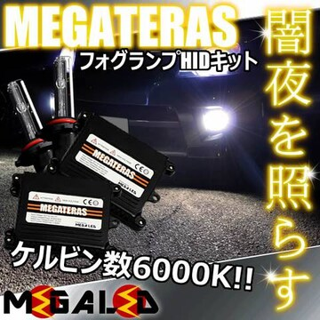 mLED】イプサム20後期/フォグランプHIDキット/HB4/6000K