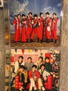超レア!☆ジャニーズWEST/考えるな燃えろ!☆初回盤AB/2CD+2DVD☆